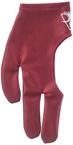 (Pro Series Billiard Gloves, Burgundy, Small)