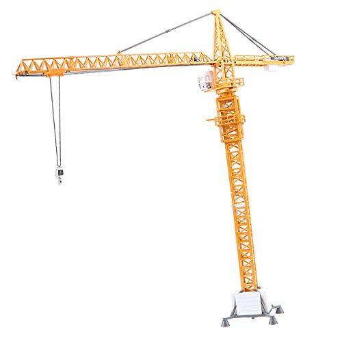 Perfk 1:50スケール 合金 建設機械 タワークレーンモデル 模型玩具の商品画像