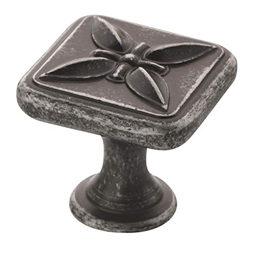 Amerock BP27009-WID Sundara Wrought Iron Dark Cabinet Hardware Knob - 1-1/8
