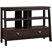 Sauder 416955 Console, TV Stand Select Jamocha Wood Anywhere