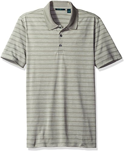 Perry Ellis Heathered Stripe Jersey