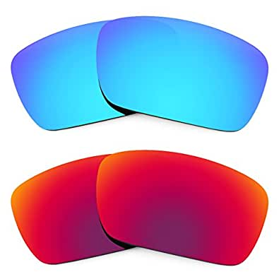 Revant Replacement Lenses for Oakley Fuel Cell 2 Pair Combo Pack K005