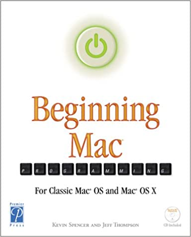 Beginning Mac OS X Programming