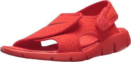 Nike Boys' Sunray Adjust 4 Sandals Habanero Red/Gym Red 6Y
