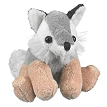 Wolf Stuffed Grey Wolf Toy By Wild Life Artist