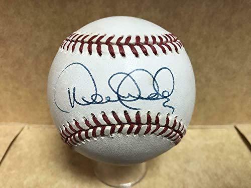 Jeter Derek Ball - Signed Derek Jeter Ball - Vintage A l Loa Z72576 - JSA Certified - Autographed Baseballs