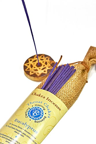 Genuine Chakra incense sticks 210 sticks with a holder, variety pack of 7 wonderful flavors,Ylang lang,Jasmine,Eucalyptus,Rose,Cedar,Lavender,And Lotus.