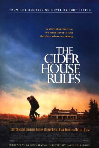 THE CIDER HOUSE RULES original 1999 rolled one sheet 27x41 movie poster MICHAEL CAINE