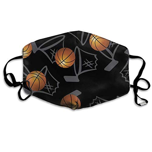 HOTSELL-Makemoney.forever Basketball Hoops Print,Fashion Earloop,Face Masks, Anti-Dust,Anti Flu Pollenm Germs Bacteria Virus Smog,Face and Nose Cover with Adjustable Elastic Strap,Medical Mask]()