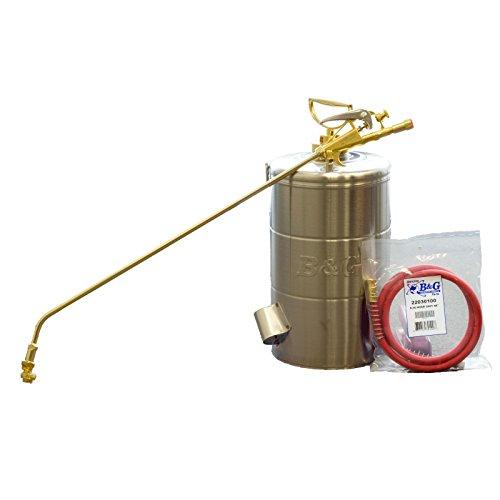 B&G 2 Gallon Stainless Steel Sprayer 24 Inch Wand 4 Way Tip 48''Hose N224-S-24 ;P#O455K5/U 7RK-B220731 by APS