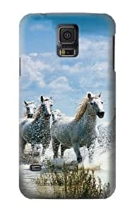 S0250 White Horse 2 Case Cover for Samsung Galaxy S5