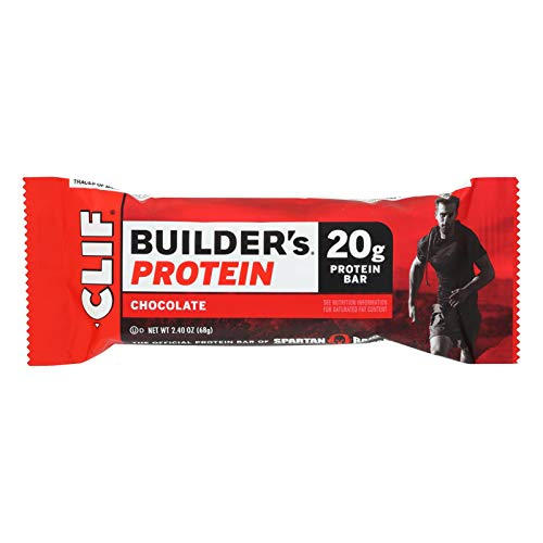 Clif Bar Builder Bar – Chocolate – Case of 12 – 2.4 oz Kosher