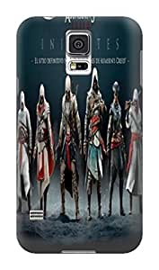 Blue pink phone iphone tpu cases for Samsung Galaxy s5 of Assassin's Creed in Fashion E-Mall by icecream design