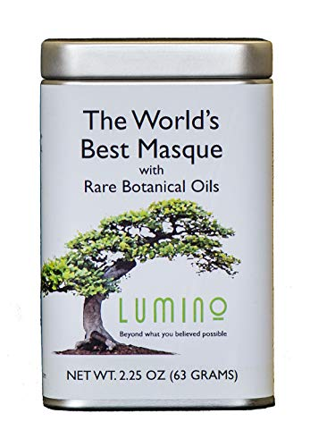 Lumino Wellness The World s Best Masque and Cleanser Facial Mask Natural – 2.25 Ounce