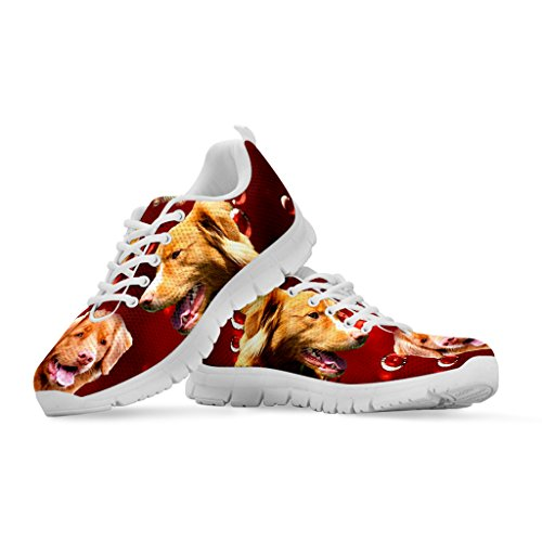 Shoetup Choose Women's Dog Your Breed Nova Shoes Print Scotia Custom Running Sneakers Casual FrF8ZOwq