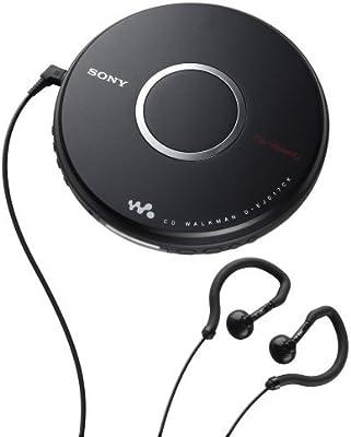 Amazon Com Sony Dej017ck Walkman Portable Cd Player W Car Accessories Home Audio Theater