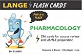 Lange Flash Cards Pharmacology