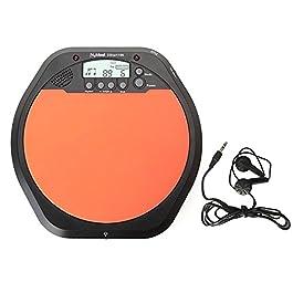 Andoer Digital Electronic Drummer Training Practice Drum Pad Metronome