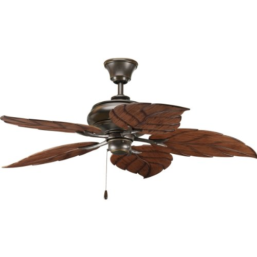 Progress Lighting P2526-20 52-Inch Air Pro Ceiling Fan, Antique Bronze Progress Lighting 52 Inch Ceiling Fan