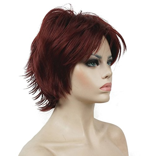 Lydell Short Layered Shaggy Wavy Full Synthetic Wigs