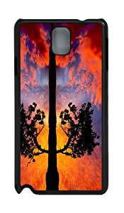 case original Tree Sunset Reflection PC Black case/cover for Samsung Galaxy Note 3 N9000