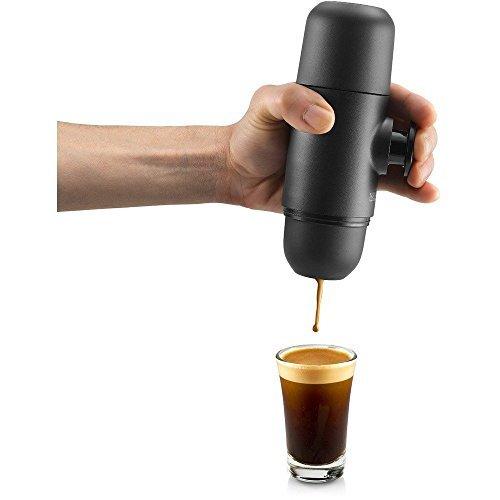 WACACO minipresso CA Outdoor Portable Espresso Coffee Machine Maker Black...