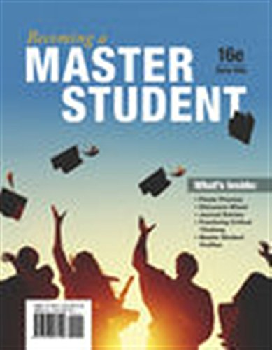 Becoming a Master Student by Cengage Learning