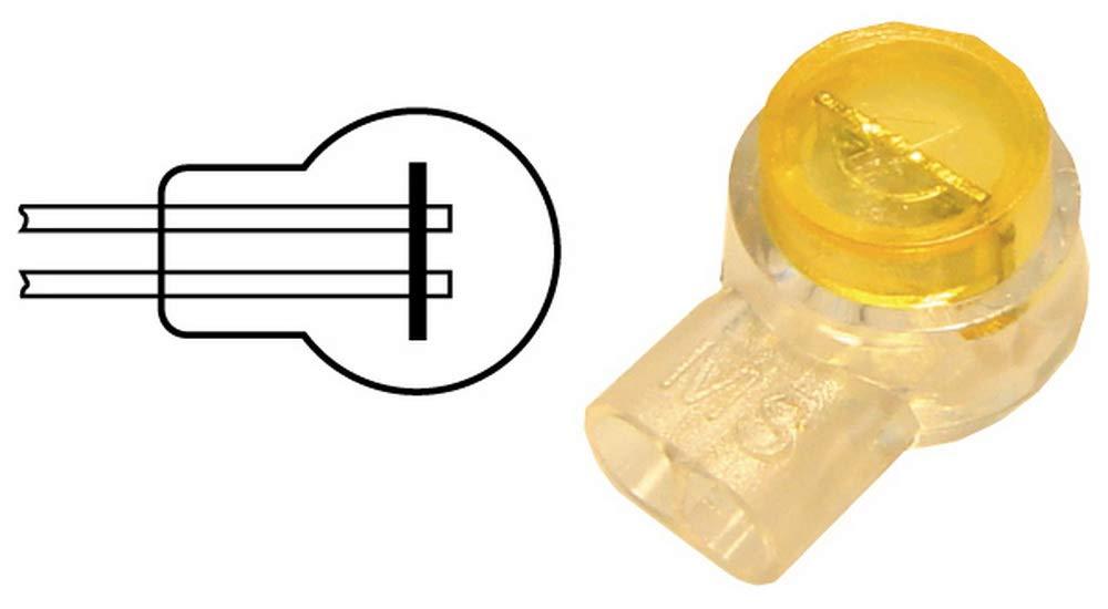 50 x Kabel-Schnellverbinder; für 3 Kabel Pressverbinder, Quetschverbinder