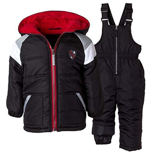 iXtreme Boys' Baby Active Colorblock Snowsuit, Royal, 18M