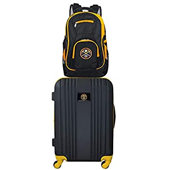 Image of Luggage NBA Denver Nuggets 2-Piece Luggage Set2-Piece Luggage Set, Black, 21