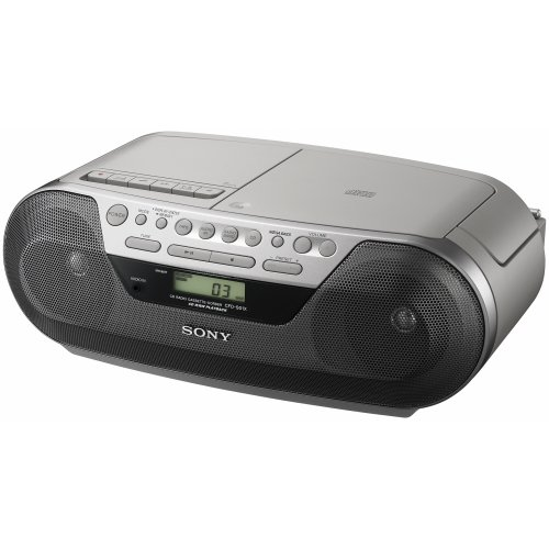 - Sony CFDS05 CD Radio Cassette Recorder Boombox Speaker System (Discontinued by Manufacturer)