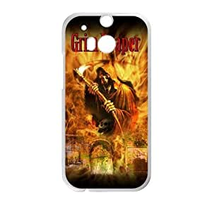 Grim reaper For HTC One M8 Cell Phone Cases Firm BHTY3097750