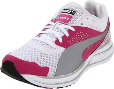 PUMA Women's Faas 800 Winners Running Shoe, Raspberry Rose/White/Silver, 8 B US