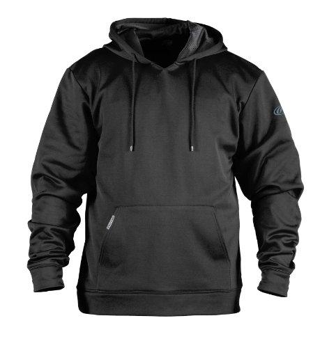 Rawlings Men's Performance Hoodie (Black, XXX-Large)