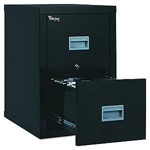 FireKing Patriot 2P1825-CBL One-Hour Fireproof Vertical Filing Cabinet