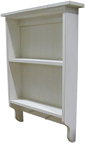 Sawdust City Wall Cabinet - Shown in Old Cottage White