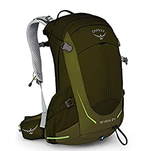 Osprey Packs Stratos 24 Hiking Backpack, Gator green, o/s, One Size