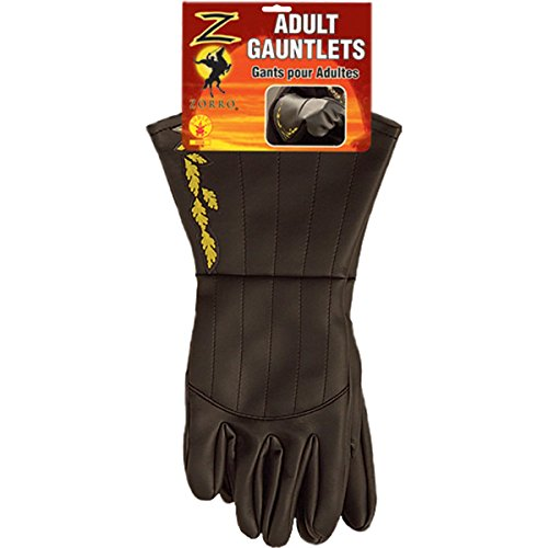 Zorro Gauntlets (Zorro Adult Gauntlets)