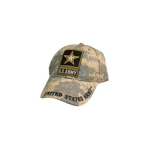 Eagle Emblems CP00127 U.S. Army Logo Cap Digital Camo (Hat Army Camo Us)