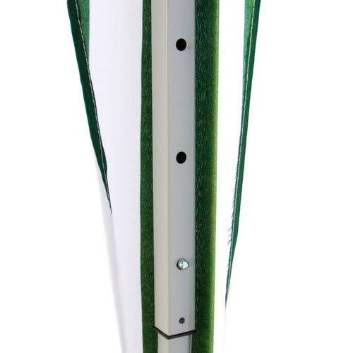 ITALFROM Gazebo Telescopico Pieghevole Richiudibile 3X3MT Verde per Esterno Campeggio Mare Tenda da Giardino