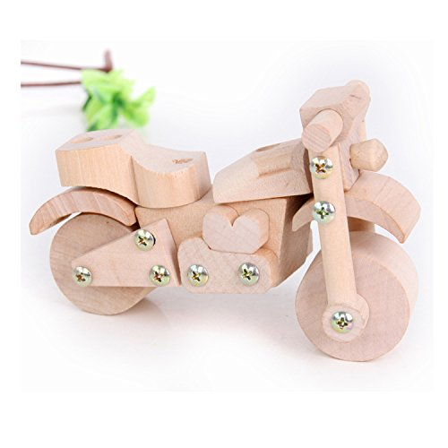 Sala Trend Children Wooden Motorcycle Building Kit