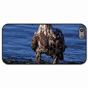 iPhone 5 5S Black Hardshell Case predator rocks sea beach Desin Images Protector Back Cover Kimberly Kurzendoerfer