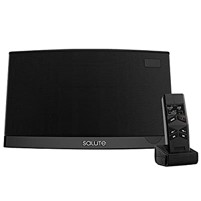 Salute 2.1 Channel Bluetooth Sound Bar with Integrated Deep Bass and Infrared Remote Control, Support Coaxial Input, USB, TF card ,MP3/WMA/PAE/FLAC Coding Rate Digital Music Streaming Speaker