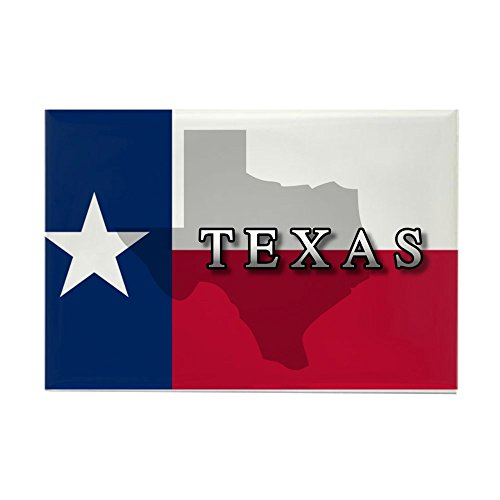 CafePress - Texas Flag Extra - Rectangle Magnet, 2