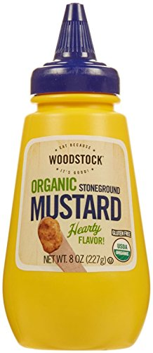 - Woodstock Farms Organic Mustard - Stoneground - 8 Ounces