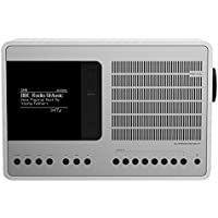 Revo SuperConnect Multi-Format Deluxe Radio - Satin White/Silver