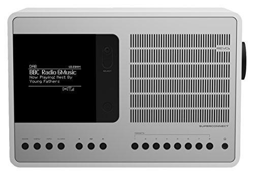 Revo SuperConnect Multi-Format Deluxe Radio - Satin