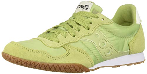 Saucony Originals Women's Bullet Sneaker Green/Gum 7 M US