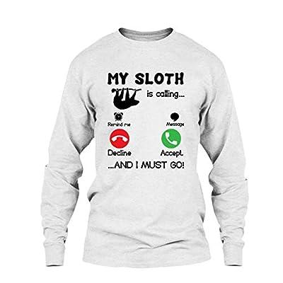 Five Lemon Cool My Sloth Is Calling T Shirt, Long Sleeve Shirt - Five Lemon