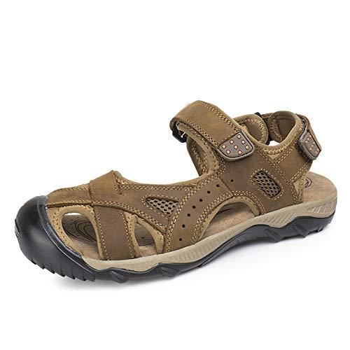 24 Aperta pantofole E Marrone Sport Sandal da Verdi All'aria Uomo Wagsiyi CM Antiscivolo Traspiranti spiaggia 27 Scarpe Scarpe 0 0 qgcxXd4nPw